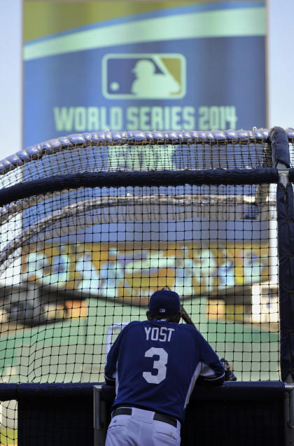 Yost has the Royals back in the World Series for the first time since 1985. (USA Today)
