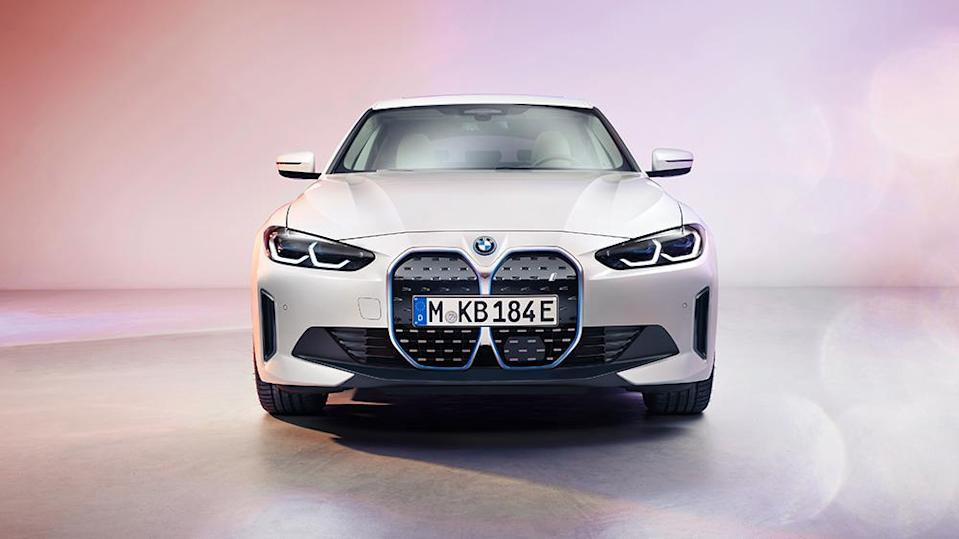 bmw's all-electric 530 hp i4 sedan is here—and it has 300