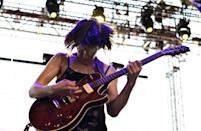 Adrianne Lenker of Big Thief, shown here in 2018, is up for several Grammys