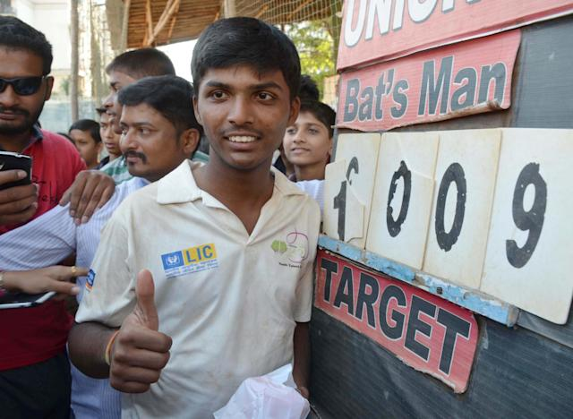 <p>In the HT Bhandari Cup inter-school tournament, Dhanawade and reached 1,009 runs off 395 minutes </p>