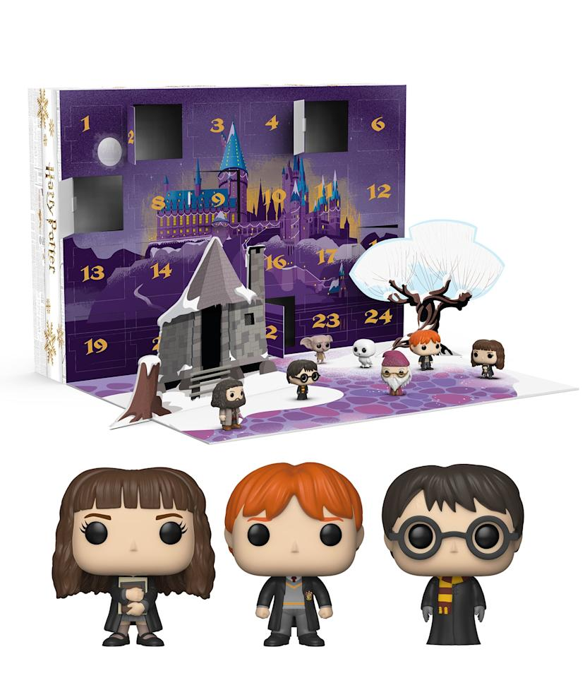 "<p>Open up a different POP figure every day in December with this <a href=""https://www.popsugar.com/buy/Funko-Harry-Potter-Advent-Calendar-506488?p_name=Funko%20Harry%20Potter%20Advent%20Calendar&retailer=walmart.com&pid=506488&price=60&evar1=moms%3Aus&evar9=42725668&evar98=https%3A%2F%2Fwww.popsugar.com%2Ffamily%2Fphoto-gallery%2F42725668%2Fimage%2F46804339%2FFunko-Harry-Potter-Advent-Calendar&list1=gifts%2Choliday%2Cgift%20guide%2Ckids%2Charry%20potter%2Cgifts%20for%20kids%2Ckid%20shopping%2Ctweens%20and%20teens%2Cgifts%20for%20toddlers&prop13=api&pdata=1"" rel=""nofollow"" data-shoppable-link=""1"" target=""_blank"" class=""ga-track"" data-ga-category=""Related"" data-ga-label=""https://www.walmart.com/ip/Funko-Advent-Calendar-Harry-Potter-24pc/264992226"" data-ga-action=""In-Line Links"">Funko Harry Potter Advent Calendar</a> ($60).</p>"
