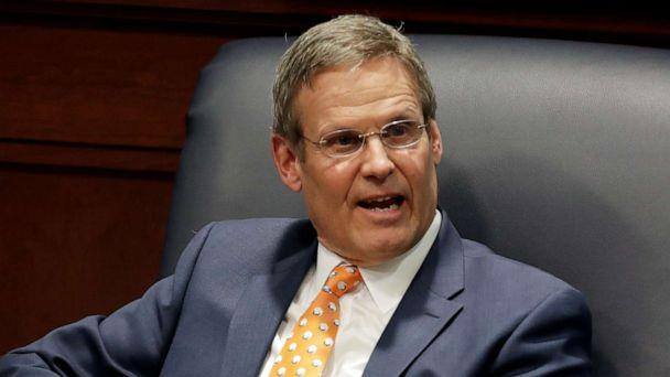 PHOTO: File photo of Tennessee Gov. Bill Lee, April 17, 2019, in Nashville. (Mark Humphrey/AP)