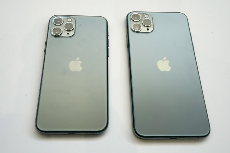 The designs of the new iPhone 11 Pro and Pro Max are triggering people's trypophobia [Photo: AP/Tony Avelar]