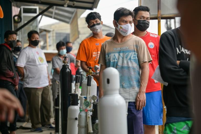 Indonesia is struggling with an alarming spike in coronavirus infections