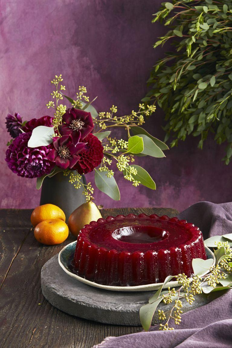 "<p>Channel your inner 1950s housewife and break out the jello mold to whip up this showstopper. But add a little booze, because it <em>is </em>the 21st century after all. </p><p><em><a href=""https://www.goodhousekeeping.com/food-recipes/easy/a35170/cranberry-port-ring/"" rel=""nofollow noopener"" target=""_blank"" data-ylk=""slk:Get the recipe for Cranberry Port Ring »"" class=""link rapid-noclick-resp"">Get the recipe for Cranberry Port Ring »</a></em></p>"