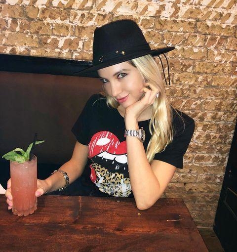 """<p>She may have been the first to get blocked on <em>The Circle</em>, but that didn't slow her down post-show. She's still working as a model for Aston Models, and her Insta is filled with bikini and lingerie pics from her latest shoots.</p><p><a href=""""https://www.instagram.com/p/CM5COfMAQbB/"""" rel=""""nofollow noopener"""" target=""""_blank"""" data-ylk=""""slk:See the original post on Instagram"""" class=""""link rapid-noclick-resp"""">See the original post on Instagram</a></p>"""