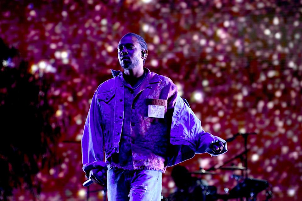 <p>File image: Kendrick Lamar performs onstage with SZA during the 2018 Coachella Valley Music And Arts Festival</p> (Getty Images)
