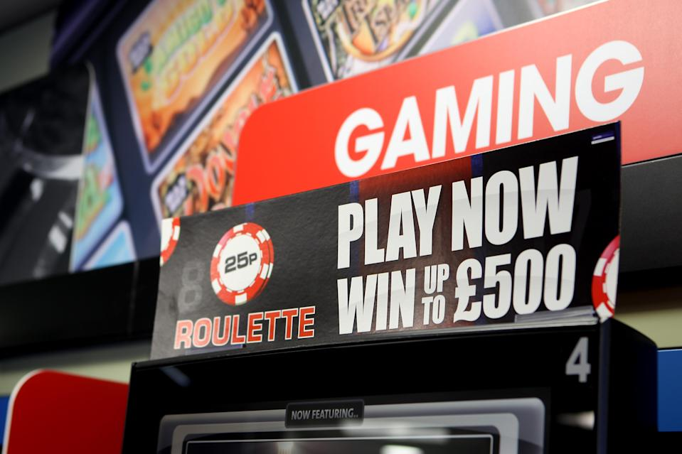 Punters can lose £100 every 20 seconds as they chase a £500 jackpot (PA)