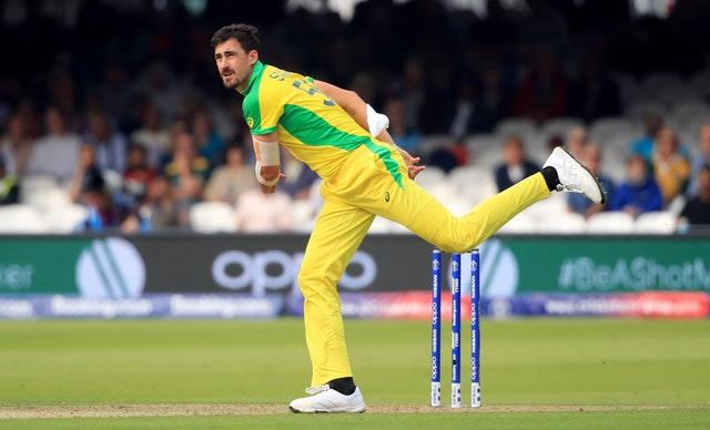 Mitchell Starc is set to represent Welsh Fire in The Hundred (Adam Davy/PA)