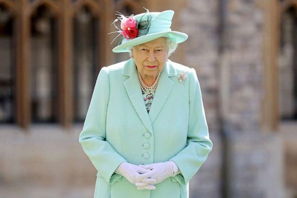 PHOTO: Britain's Queen Elizabeth poses at Windsor Castle, in Britain, July 17, 2020. (Pool/Chris Jackson/Pool via Reuters, FILE )