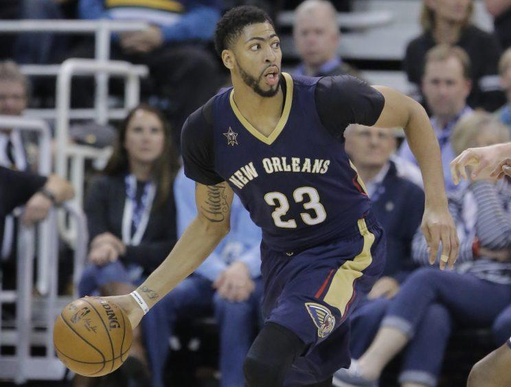 Anthony Davis is easily the best player from the 2012 draft. (AP)