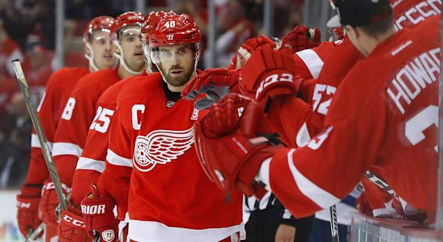 <p>The Red Wings signed Henrik Zetterberg to a 12-year, $73M deal in 2009. (Paul Sancya/AP) </p>