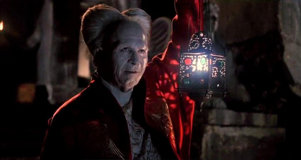 """<p><strong><em>Bram Stoker's Dracula</em></strong></p><p>An ancient monster arrives in England to seek fresh blood. The film, directed by Francis Ford Coppola, garnered three Academy Awards for Best Costume Design, Best Makeup, and Best Sound Editing.</p><p><a class=""""link rapid-noclick-resp"""" href=""""https://www.amazon.com/Bram-Stokers-Dracula-Gary-Oldman/dp/B00170GXQ2/?tag=syn-yahoo-20&ascsubtag=%5Bartid%7C10055.g.29120903%5Bsrc%7Cyahoo-us"""" rel=""""nofollow noopener"""" target=""""_blank"""" data-ylk=""""slk:WATCH NOW"""">WATCH NOW</a></p>"""
