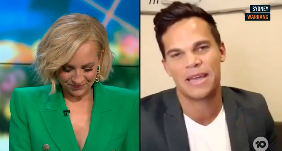 Carrie Bickmore and Jimmy Nicholson