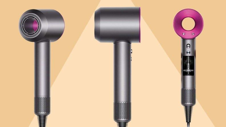 The Dyson Supersonic hair dryer is engineered to protect hair from heat damage.