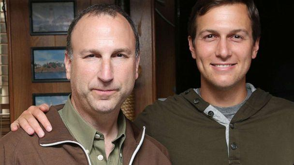 PHOTO: Ken Kurson and Jared Kushner attend The New York Observer Celebrates Robert Kurson's New Book PIRATE HUNTERS at The Rusty Knot, June 15, 2015, in New York. (J Grassi/Patrick McMullan via Getty Images)