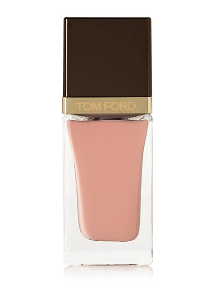 "A little darker than Tumblr pink, dusty pink errs on the side of taupe, rather than peach.  Tom Ford Beauty Nail Polish in Milk Brule, $36; at <a rel=""nofollow"" href=""https://www.net-a-porter.com/us/en/product/901313/tom_ford_beauty/nail-polish---mink-brule"" rel="""">Net-a-Porter</a>"