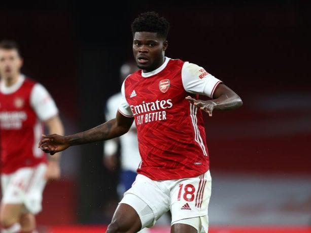 <p>Partey impressed in the North London derby on Sunday</p> (Getty Images)