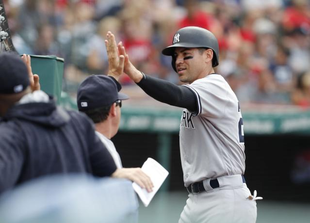 "<a class=""link rapid-noclick-resp"" href=""/mlb/players/7912/"" data-ylk=""slk:Jacoby Ellsbury"">Jacoby Ellsbury</a> has entered the MLB record books. (Photo by David Maxwell/Getty Images)"