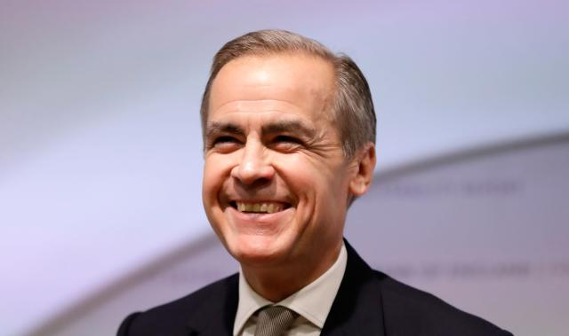 Mark Carney will take up the role of climate adviser to the UK government after he steps down as the Bank of England governor in March. Photo: Kirsty Wigglesworth/AFP via Getty Images