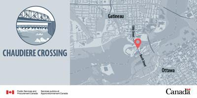 Chaudiere-Crossing-EN (CNW Group/Public Services and Procurement Canada)
