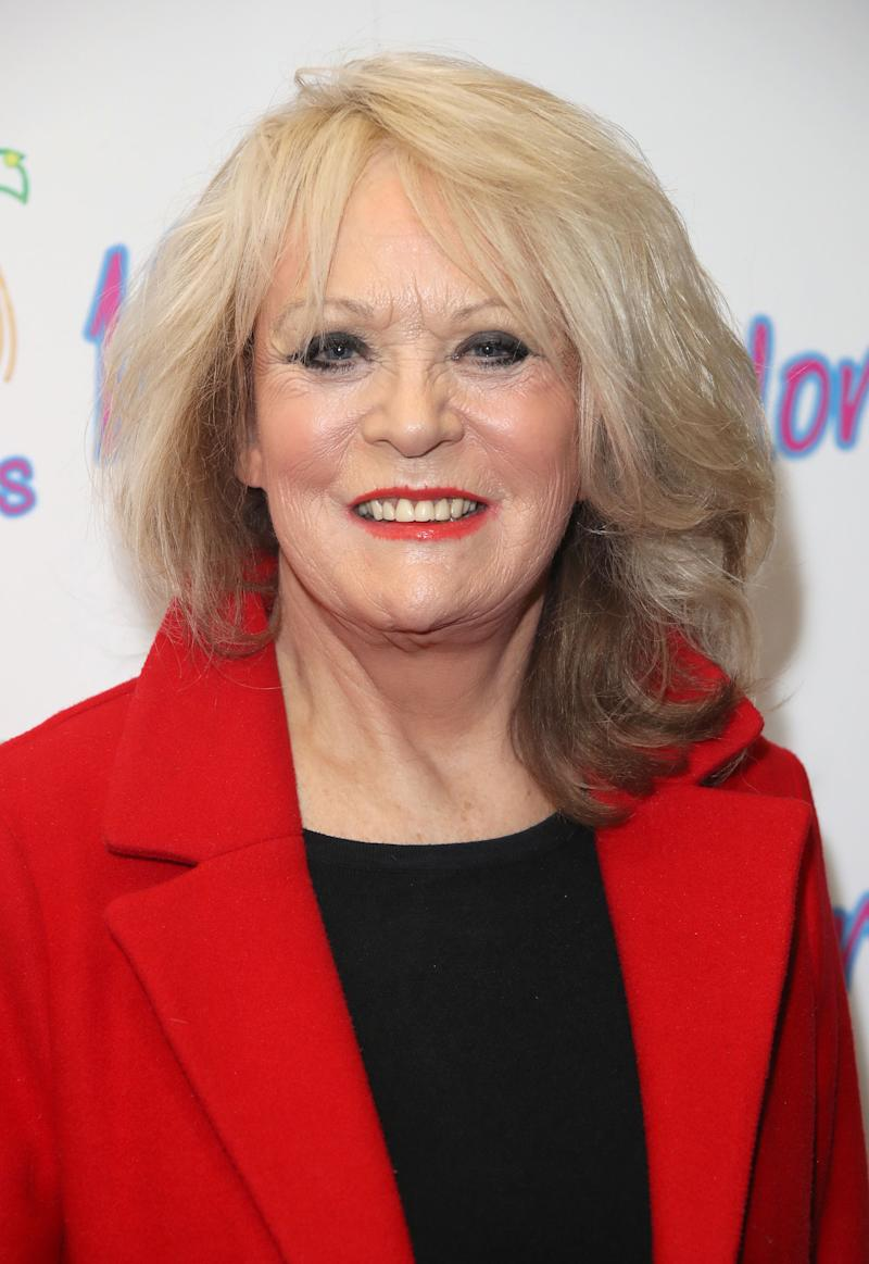 LONDON, ENGLAND - JANUARY 29: Sherrie Hewson during a photocall for ITV show 'Benidorm ' which is celebrating it's 10th anniversary at The Curzon Mayfair on January 29, 2018 in London, England. (Photo by Mike Marsland/Mike Marsland/WireImage)