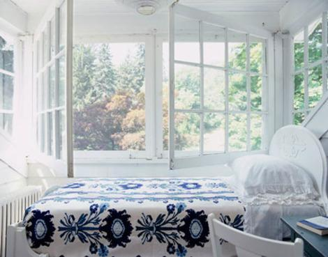 The perfect sleeping porch