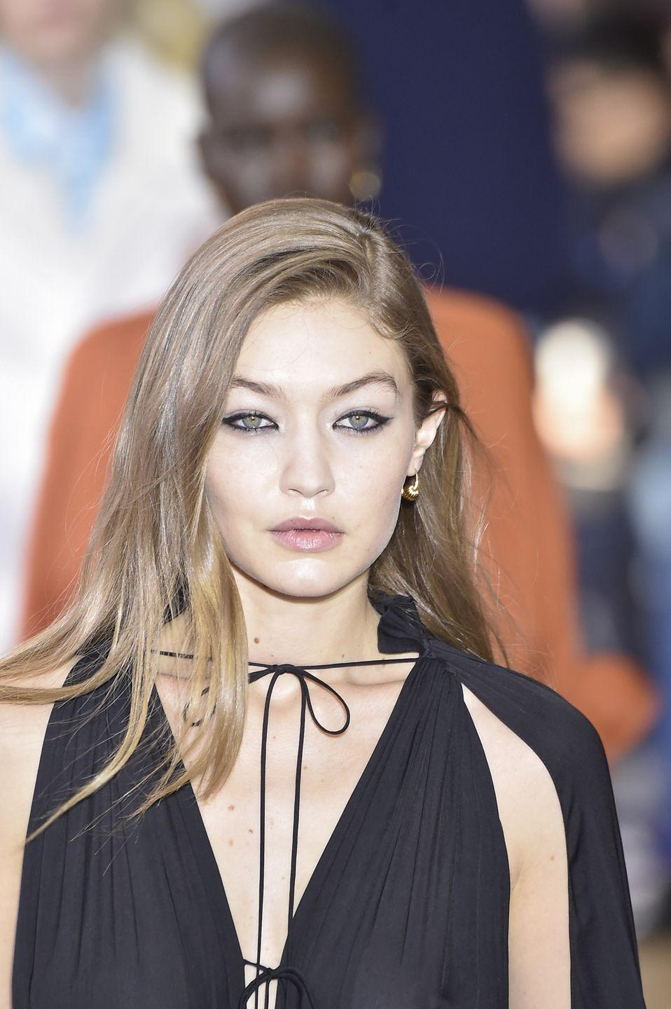 <p>For those looking for a more natural look, try softer, glowing beige or buttery tones instead of bright blonde, says Choate. Gigi Hadid's mushroom blonde is a great example of this. </p>