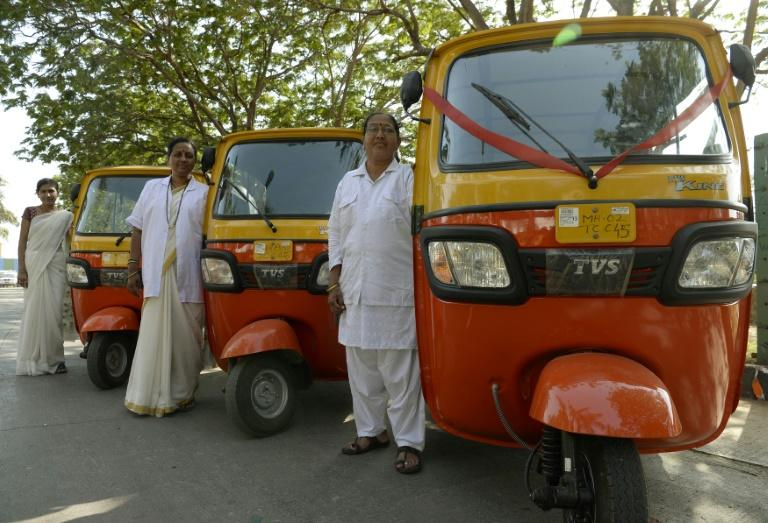 Authorities in Maharashtra State, of which Mumbai is the capital, has launched a scheme ensuring five percent of rickshaw permits go to women