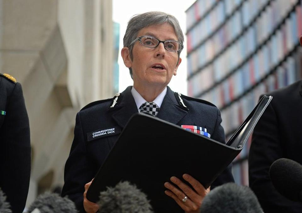 """The Met Commissioner said the """"borderless and unregulated spaces"""" online were to blame for creating new risks to the public (PA Archive)"""