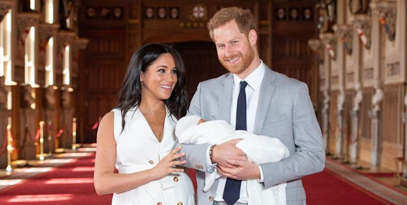 Royal Website Accidentally Calls Baby Archie Son of Prince William and Kate