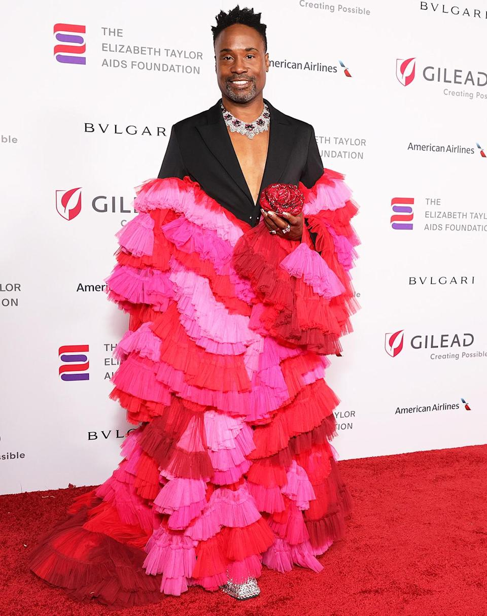 <p>at the Elizabeth Taylor Ball to End AIDS in West Hollywood on Sept. 17.</p>