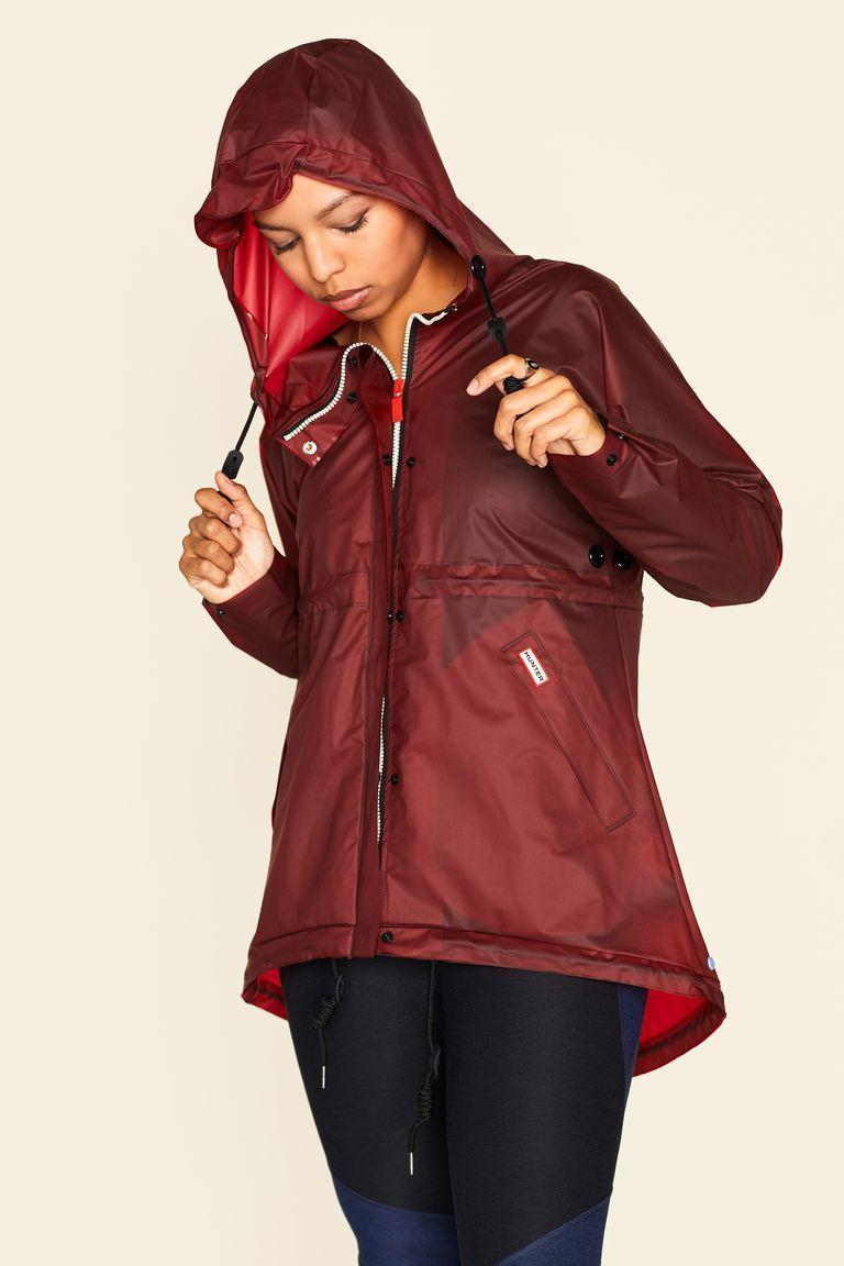 """<p>hunterboots.com</p><p><strong>$88.00</strong></p><p><a href=""""https://go.redirectingat.com?id=74968X1596630&url=https%3A%2F%2Fwww.hunterboots.com%2Fus%2Fen_us%2Fwomens-jackets%2Fwomens-original-waterproof-vinyl-smock%2Fred%2F2811&sref=https%3A%2F%2Fwww.elle.com%2Ffashion%2Fshopping%2Fg33078428%2Fbest-elle-editor-product-reviews%2F"""" rel=""""nofollow noopener"""" target=""""_blank"""" data-ylk=""""slk:Shop Now"""" class=""""link rapid-noclick-resp"""">Shop Now</a></p><p>""""A bit more practical than the totally translucent looks from the runways at Chanel and Maison Margiela, the <a href=""""https://www.elle.com/fashion/shopping/a19828972/hunter-raincoat-smock-review/"""" rel=""""nofollow noopener"""" target=""""_blank"""" data-ylk=""""slk:Hunter Vinyl Smock"""" class=""""link rapid-noclick-resp"""">Hunter Vinyl Smock</a> caters to all your rain-day needs. Plus, whenever I wear it I get compliments. But it has that effect on people; it's attention-grabbing for being both functional <em>and</em> stylish."""" — <em>Mariel Tyler, photo editor</em></p>"""