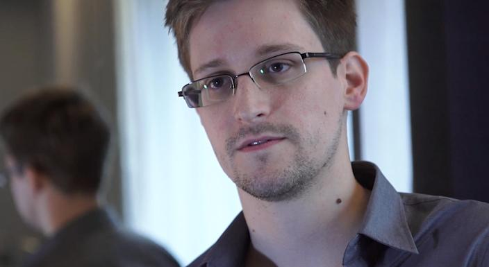 Edward Snowden, a former NSA contractor in Hawaii, seen here in Hong Kong after leaving the United States in 2013, revealed details of top-secret NSA surveillance of telecom data. (Photo: The Guardian via Getty Images)