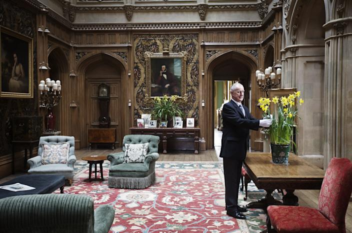 """<h1 class=""""title"""">Daily Life At Highclere Castle Home To Television Program Downton Abbey</h1><cite class=""""credit"""">Photo: Matthew Lloyd/Getty Images</cite>"""