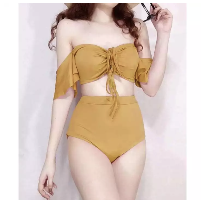 Korean-style swimsuit. (PHOTO: Lazada Philippines)