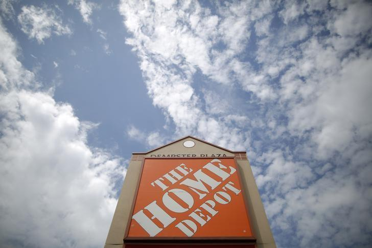 A Home Depot location is seen in Niles