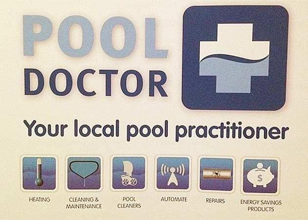 Clients of a Sydney pool cleaning business were sent lewd messaged from Sheather. Photo: Facebook