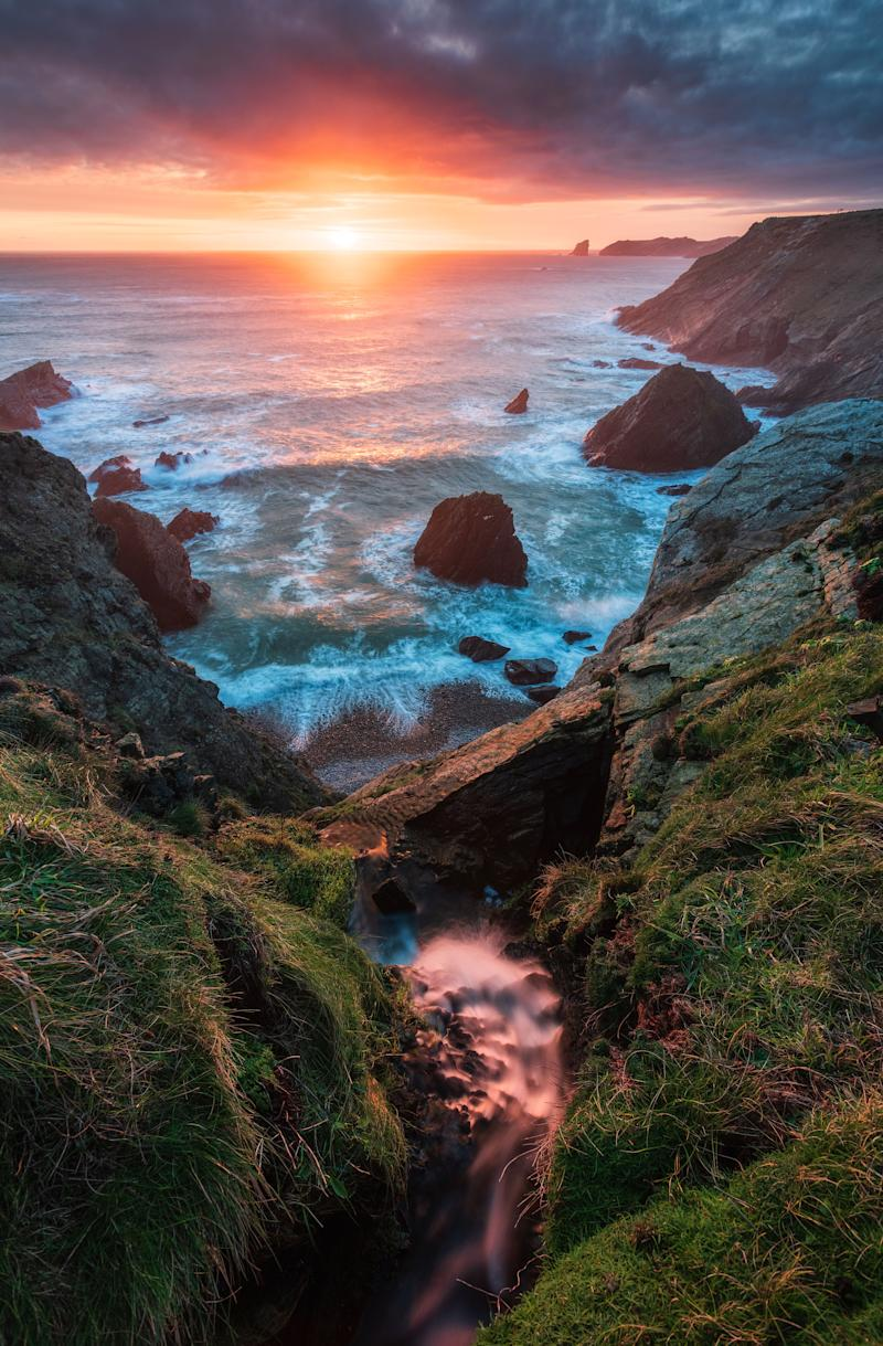 Deadsman Bay, Wales. (Photo: Alessio Putzu/Caters News)