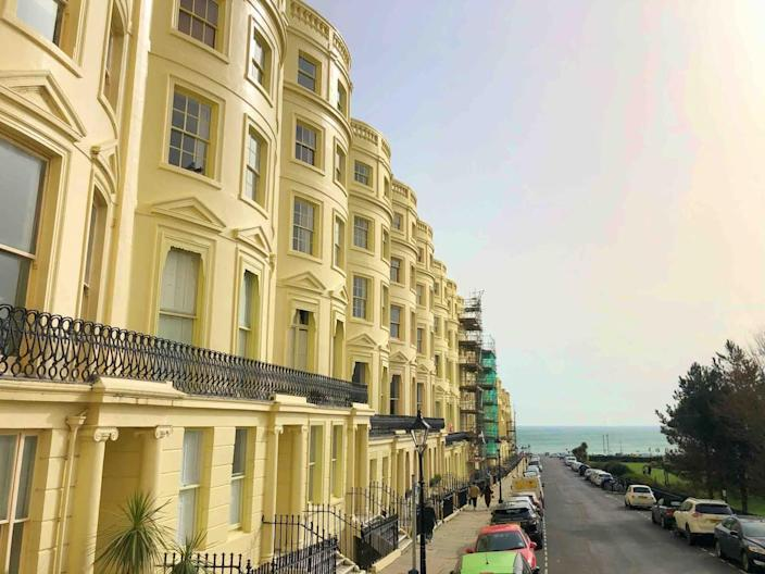 Brunswick Square is perfectly located by the seafront (Airbnb)