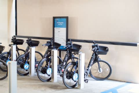 Zagster Launches First Electric Bike Share Service For A Commercial Property In The United States