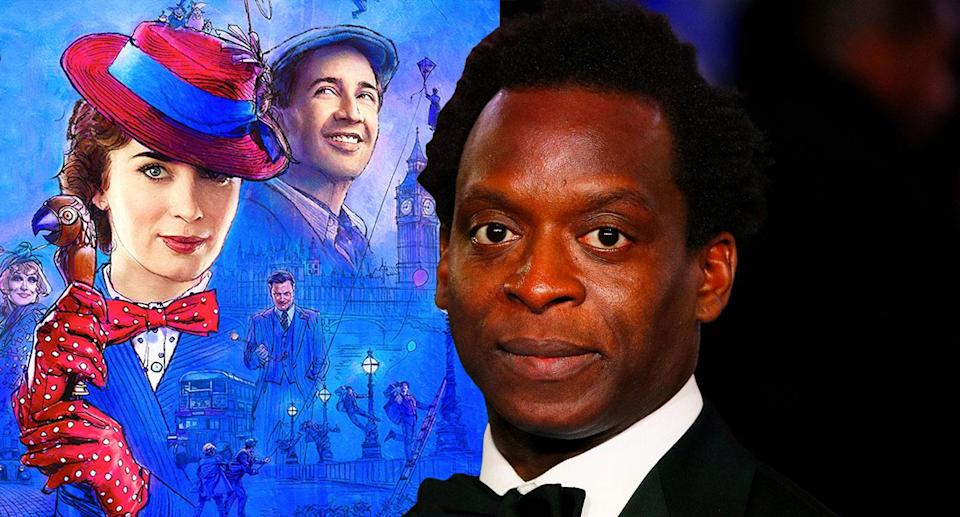 Kobna Holdbrook-Smith plays a small but pivotal role in <i>Mary Poppins Returns</i> (Disney/REUTERS/John Sibley)