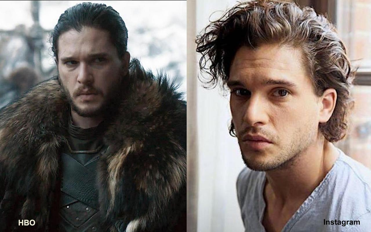 <p>Joh Snow (Kit Harington) </p>