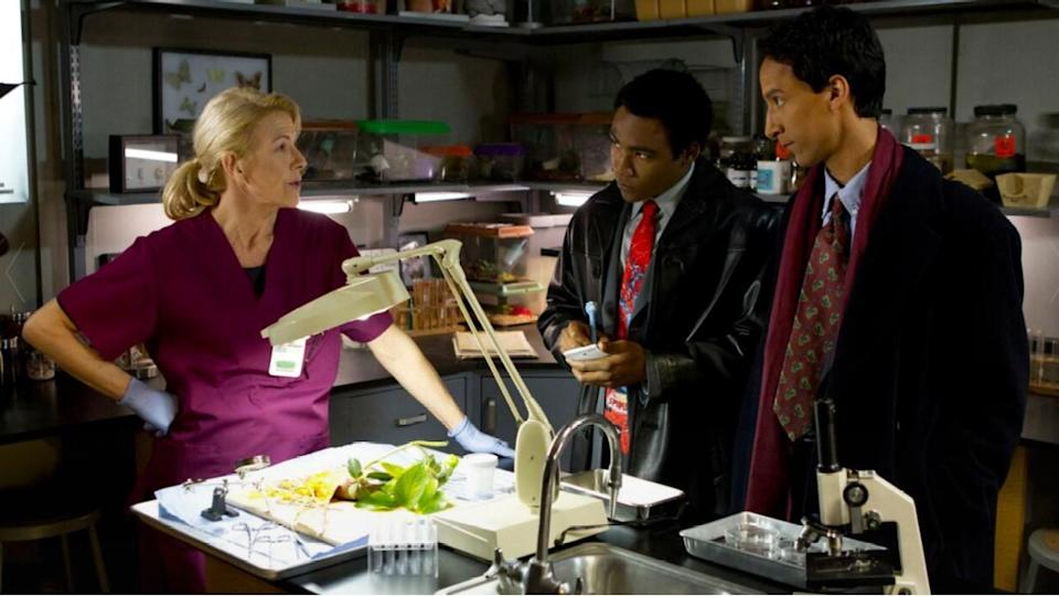 <p> After the study group's biology project, a yam, gets squashed, Troy and Abed try to figure out who did it. They can't just do that as normal college students, though – they need to roleplay as detectives and go through every trope and stereotype they know from Law and Order. </p> <p> 'Basic Lupine Urology' foregoes some deeper character growth for a ton of laughs. This is the type of episode that reminded us of how funny Community can be, with jokes that land every few seconds. </p>