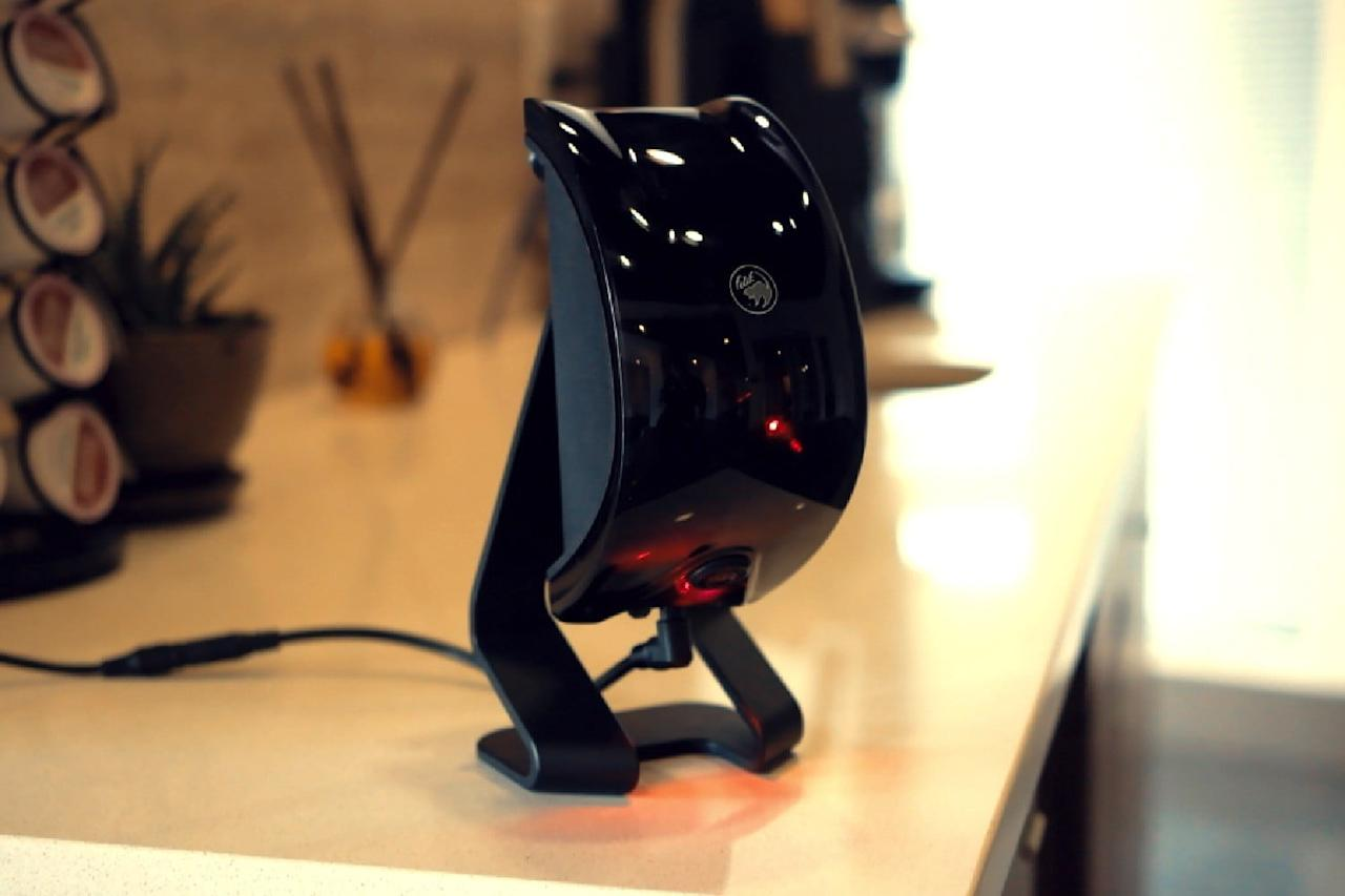 "Described by its creators as a ""Kinect for pets,"" this smart laser toy combines a camera, computer vision algorithms, motion tracking, and AI to keep your cat or dog entertained while you're out."