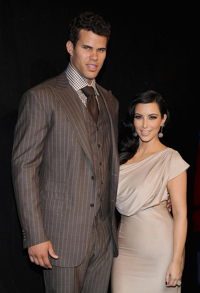 Kim married Kris Humphries in 2011. Copyright: [Getty]