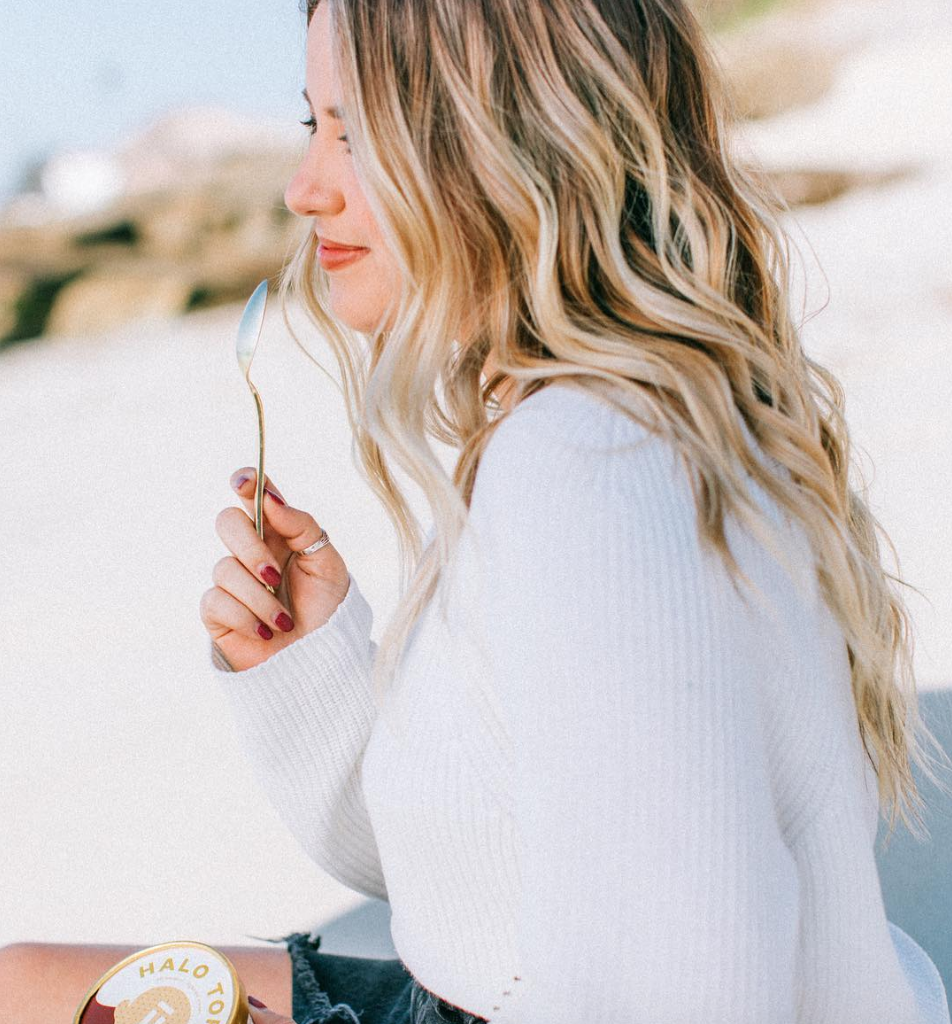 Food-inspired hair trends show no sign of slowing down. This s'mores hair color is a combo of rich brown toward the roots (your chocolate), golden-brown highlights (hi, graham crackers), and a light golden blond at the ends (we'll take a wild guess and go with toasted marshmallows).