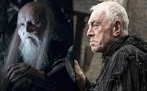 <p><b>Original: </b>Struan Rodger (Season 4)</p><p><b>Recast:</b> Max von Sydow (Season 6)</p><p>This is an example of a character who made a brief appearance — revealing himself to Bran Stark at the end of Season 4 — and then went on to greater importance. Thus, <i>Game of Thrones</i> recast the role with a name actor in von Sydow, who is fresh off of <i>Star Wars: The Force Awakens</i>.</p><p><i>(Credit: HBO)</i><br></p>