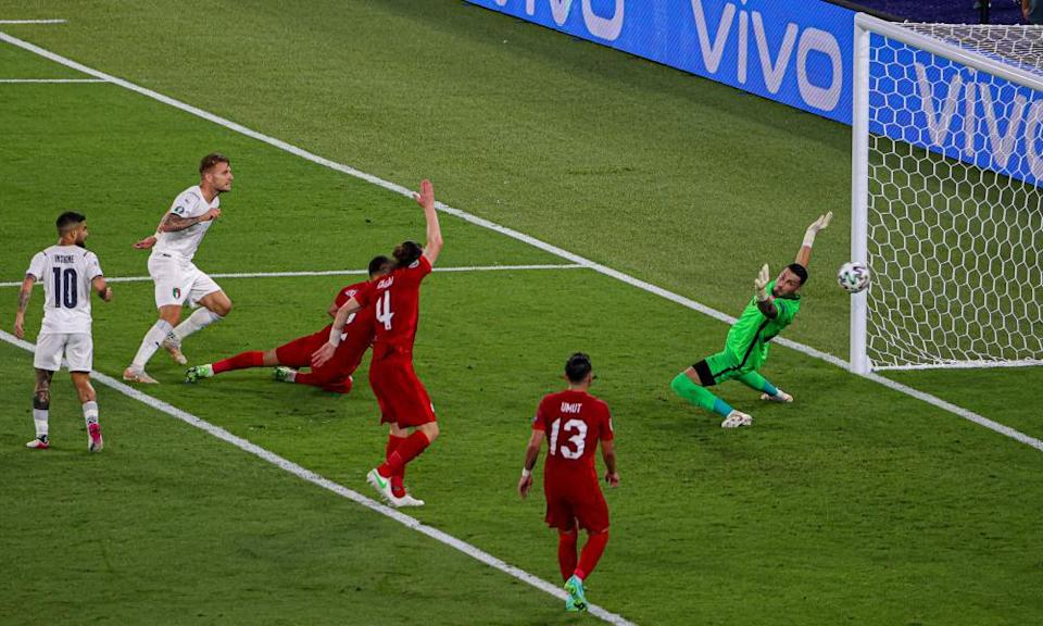 Turkey were comfortably beaten by Italy in the opening game on Friday.