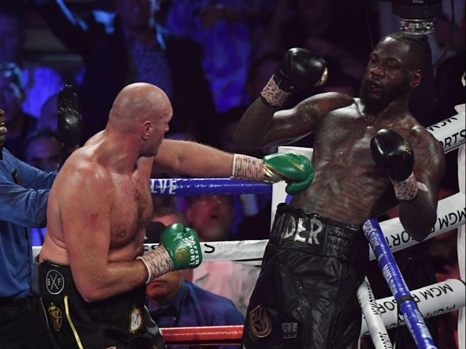 Fury will make the first defence of his WBC title against the man he took the belt from (AFP via Getty Images)
